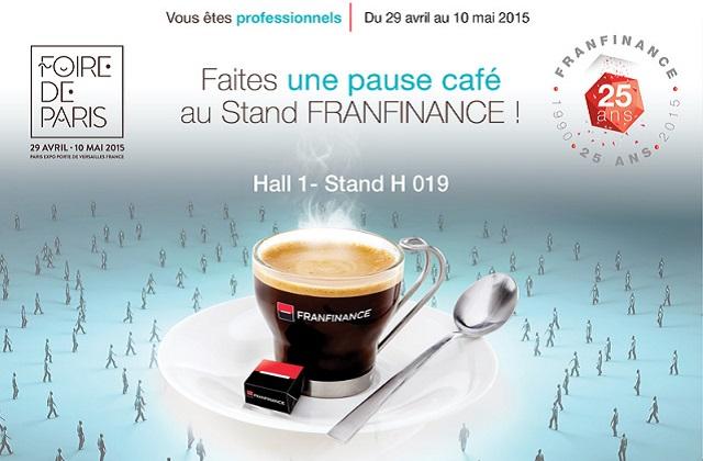 Franfinance E-solutions participe à la Foire de Paris 2015 !